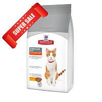 Сухой корм для котов Hill's Science Plan Feline Young Adult Sterilised Cat Chicken 8 кг