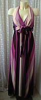 Платье женское сарафан лето макси бренд Guet Addict р.44