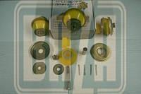 Подушка двигателя УАЗ 452,469 (полиуритан) верхняя,нижняя (шайбы,болт) (к-кт 4 шт) (пр-во Ульяновск)