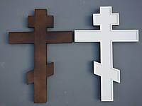 Липовый залевкашенный крест под живопись.