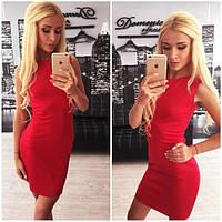 Шикарное красное платье