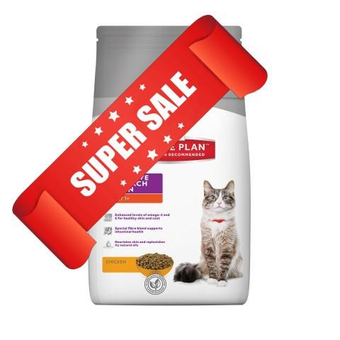 Сухой корм для котов Hill's Science Plan Feline Adult Sensitive Stomach & Skin Chicken 1,5 кг