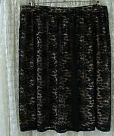 Юбка женская вечерняя шикарная гипюр миди батал бренд Atmosphere р.54, фото 1