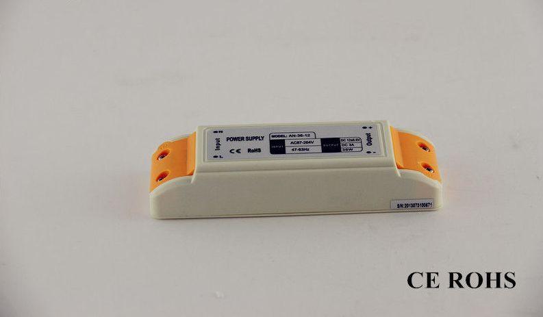 Dilux - Блок питания 36Вт,12В, 3А, IP20, в пластиковом корпусе, Premium класс, гарантия 2года.