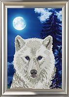 """Схема для вышивки бисером  А3 """"Волк"""""""