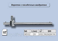 """Вороток Т-образный 1/2"""", 250мм., Top Tools 38D152, фото 1"""