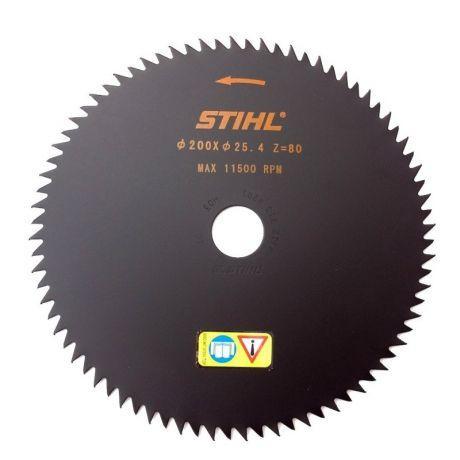 Диск острозубый STIHL 200 мм - 80 зубьев, для FS 87 - FS 250 (41127134201)