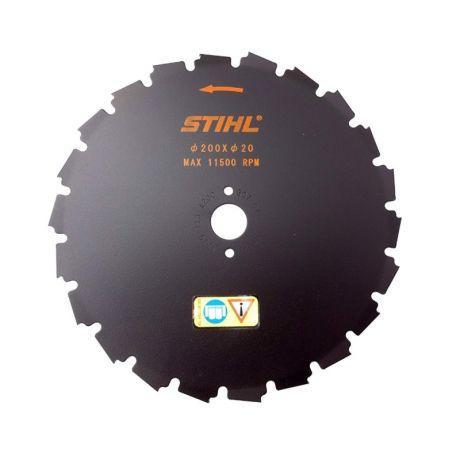 Диск с долотообразными зубьями STIHL 200 мм - 22 зуба для FS 260 - FS 490 (41197134200)