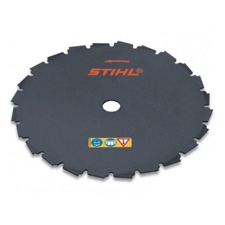 Диск с долотообразными зубьями STIHL 225 мм - 24 зуба для FS 260 - FS 560 (40007134201)