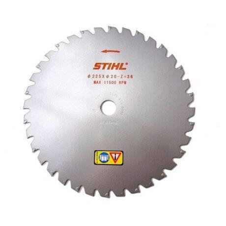 Диск с твердосплавными зубьями STIHL 225 мм - 36 зубьев для FS 260 - FS 560 (40007134211)