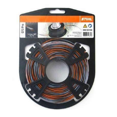Косильная струна STIHL CF3 Pro, 2,4 мм х 35 м (00009304300)