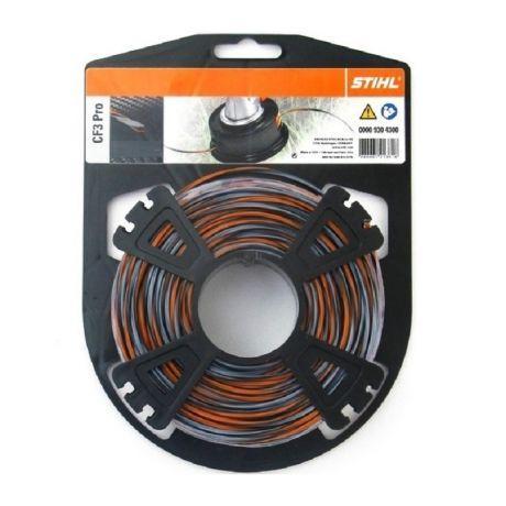 Косильная струна STIHL CF3 Pro, 2,7 мм х 27 м (00009304301)