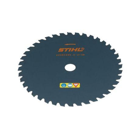 Нож для травы STIHL 250 мм - 40 лепестков для FS 87 - FS 250 (40017133806)