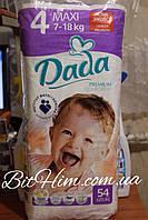 Dada 4 maxi (7-18кг) (54шт)Польша