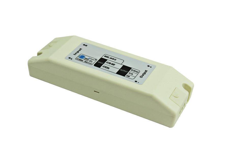 Dilux - Блок питания 72Вт, 12В, 6А, IP20, в пластиковом корпусе, Premium класс, гарантия 2года.