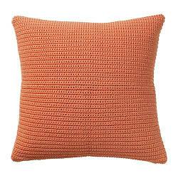 ИКЕА (IKEA) SÖTHOLMEN, 003.940.02, Чехол на подушку, д/дома/улицы, оранжевый, 50x50 см