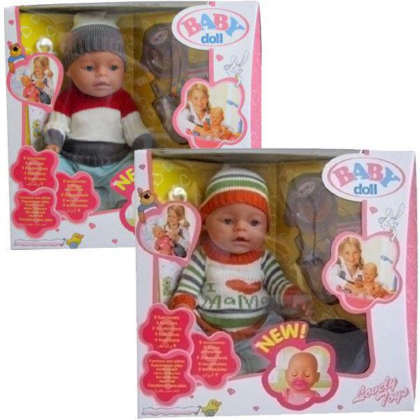 Детский пупс c aкceccуapaми «Baby doll» 3 видa
