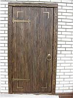 """Дверь под старину"""" Броварня."""""""