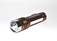 Фонарь светодиодный King Light - 084 XPE + 6 smd диодов, power bank, usb, фото 1