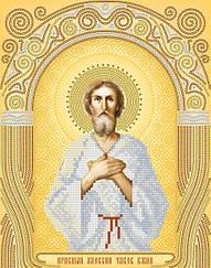 """Схема для вышивки бисером именная икона """"Святой Алексий"""""""