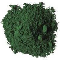 Зеленый  пигмент
