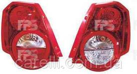 Фонарь задний для Chevrolet Aveo хетчбек (Т255) '08-12 левый (DEPO)