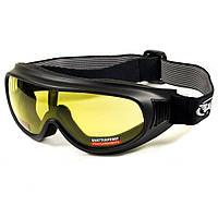 Лыжная маска TRUMP Global Vision  с желтой линзой, фото 1