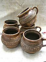 Чашка глиняна  0.2л для кави