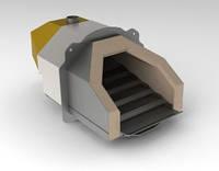 Пеллетная горелка OXI Ceramik 20 кВт автоматическая, самоочищающаяся