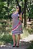 Женское платье батал лето