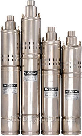 Насос шнек. SPRUT 4S QGD 1.8-50-0.5 кВт /40-80м/(маслонап.), фото 2