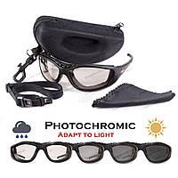 Защитные спортивные очки Global Vision Freedom 24 с фотохромными линзами, фото 1