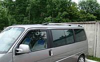 Рейлинги декоративные (с пластиковыми наконечниками) volkswagen t-4 transporter (фольксваген транспортер т4)
