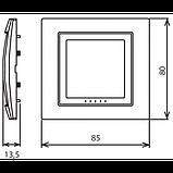 Рамка 1 пост. Unica Colors біла MGU4.002.18, фото 3