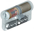 Цилиндр Abloy Protec 107 (31х76) Cr ключ-ключ, фото 3