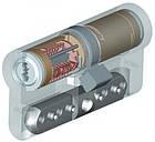 Цилиндр Abloy Protec 112 (56х56) Cr ключ-ключ, фото 3