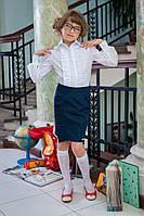 Детская школьная юбка для девочки 521 Прямая, фото 1