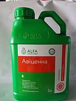 Авиценна, 5л — протравитель на 8-12 т (тебуконазол, 50 + прохлораз, 250 + крезоксим-метил, 50). Аlfa