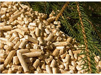 Пеллеты топливные древесные