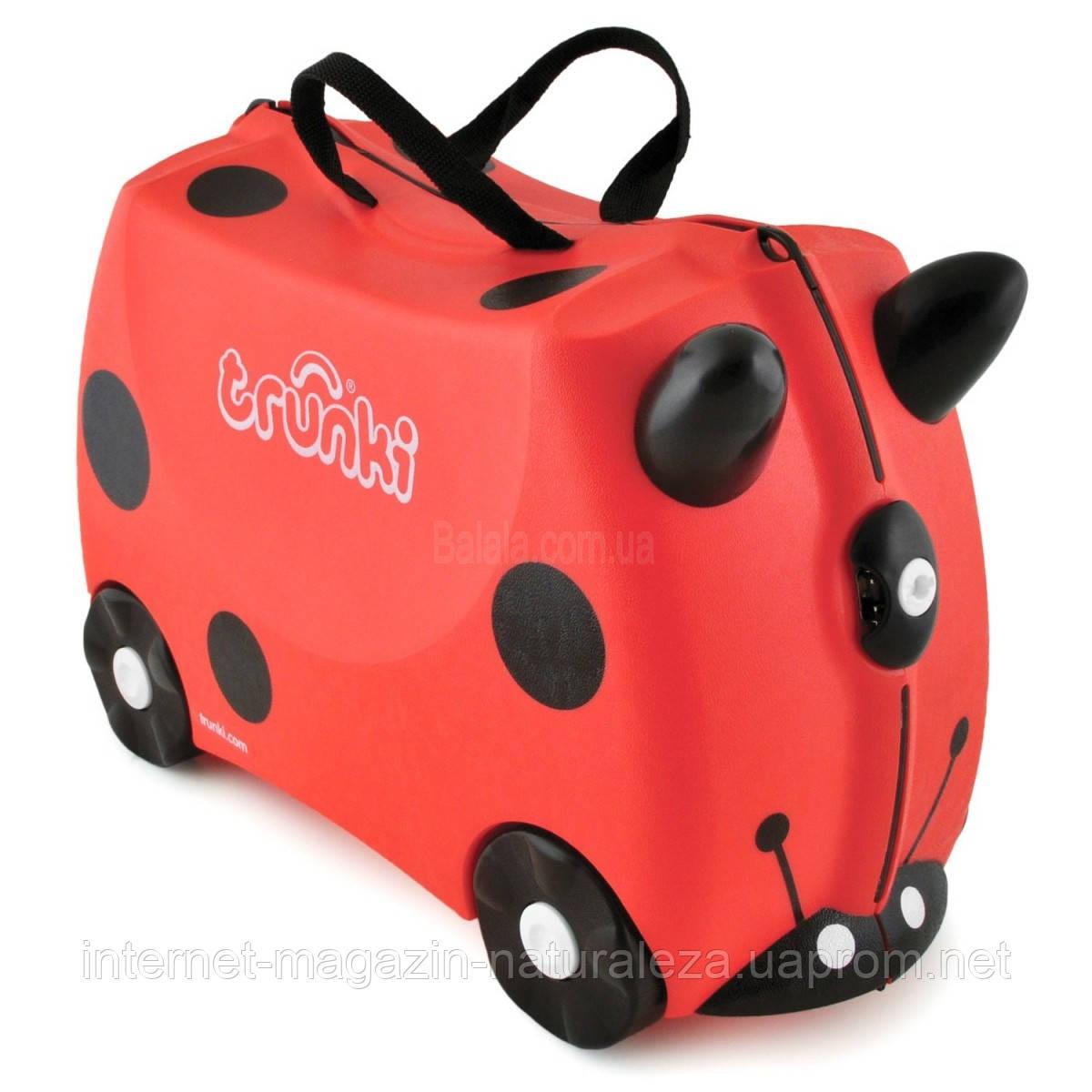 Детские чемоданы Trunki Harley Ladybug - Интернет-магазин La Flor -  качественные товары и игрушки 986be2518fc