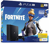 Игровая приставка SONY PlayStation 4 Pro 1Tb Black (Fortnite) (9941507)