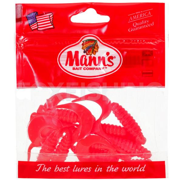 Twister Mann's M-038 70mm розовый (EP) 5шт./уп
