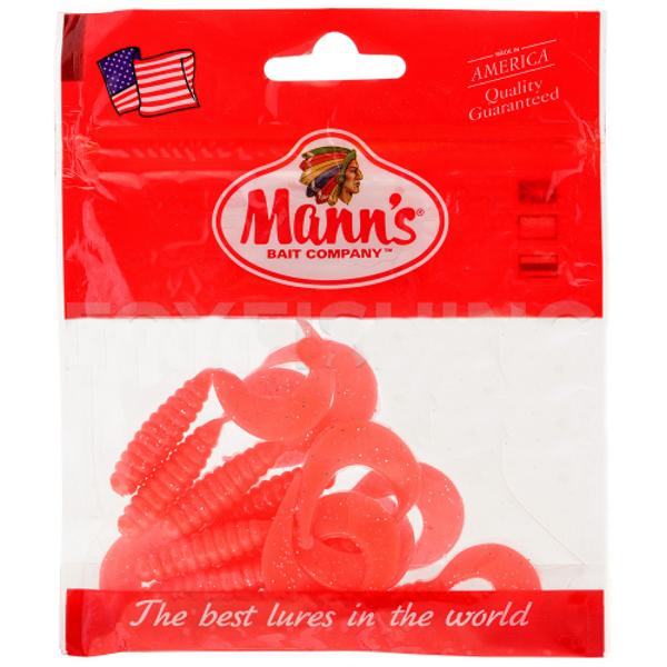 Twister Mann's M-038 70mm розовый с блестками (MFEP) 5шт./уп