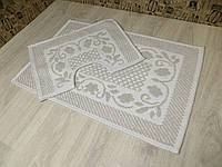 Набор ковриков в ванную. 100% хлопок. Турция., фото 1