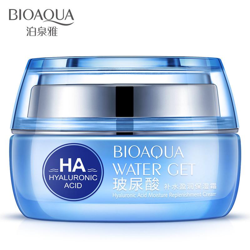 Крем для лица с гиалуроновой кислотой Bioaqua Water Get Hyaluronic Acid Moisture Replenishment Cream (50г)