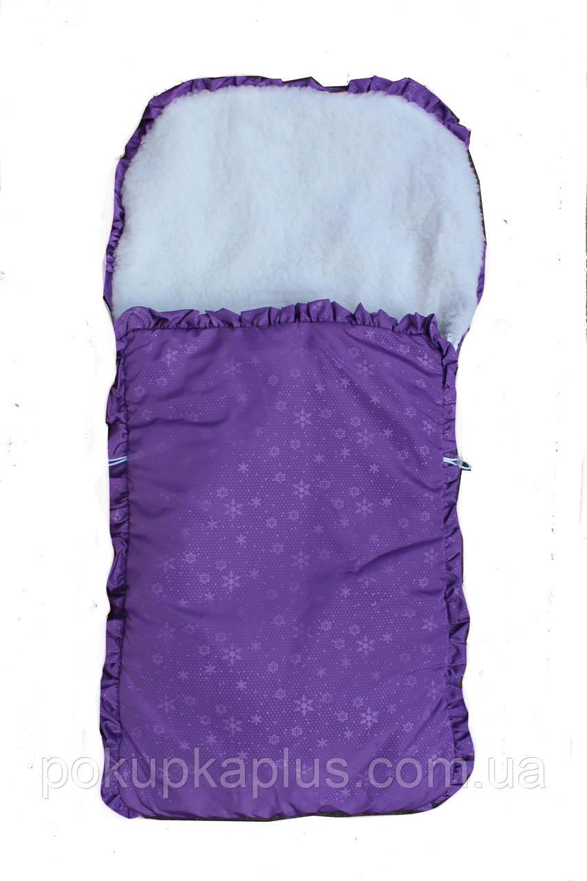 Конверты для новорожденных демисезон чехол в санки в коляску