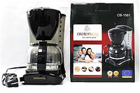 Coffee Maker CB 1561 Crownberg 0.6L, Кофеварка капельная, Электрокофеварка, Кофеварка для дома