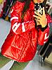 Зимова куртка жіноча зі знімним капюшоном, з 42 по 82 розмір