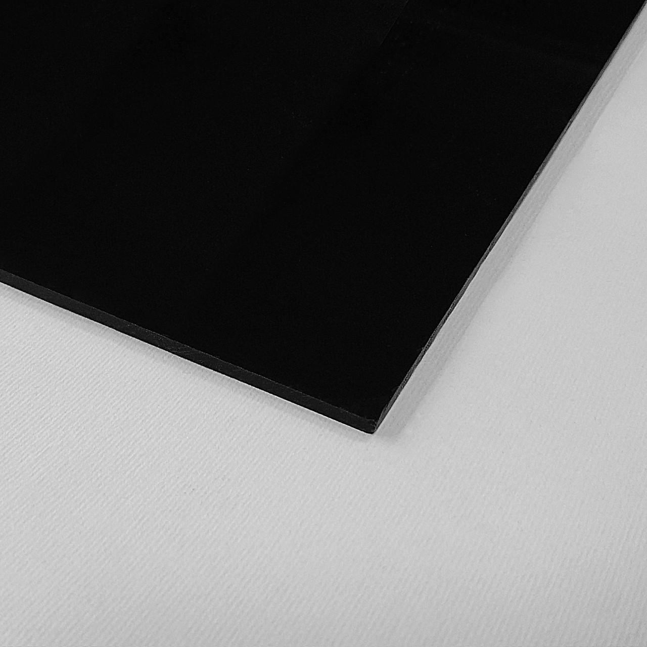 Акрил Plexima XT, чёрный, 3 мм