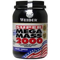 Weider Гейнер Weider Mega Mass 2000, 1.5 кг (ваниль)